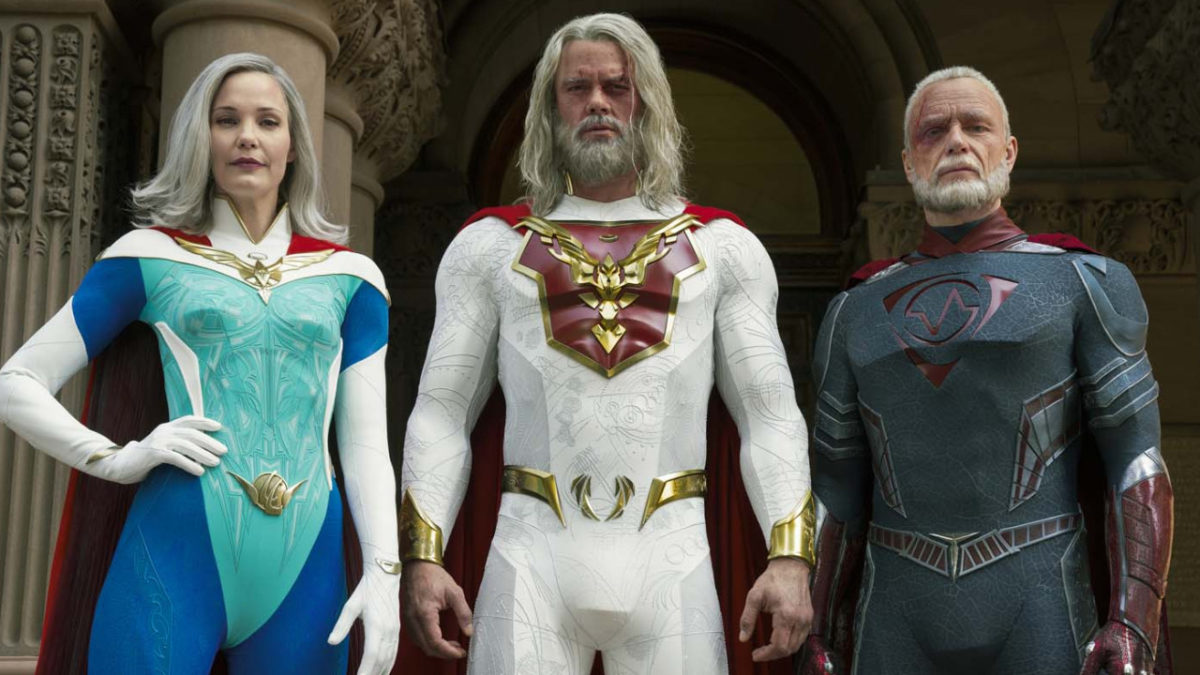 Jupiter's Legacy on Netflix: an epic trailer for the superhero series