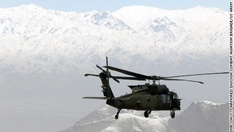 From the 1 Armored Division Combat Aviation Brigade forces UH-60 transports gas by any combination of Area Operations and Afghanistan.