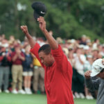 Tiger Woods Wins First Masters