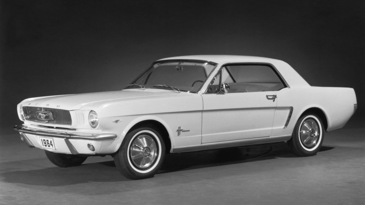 Ford Mustang debuts at World's Fair
