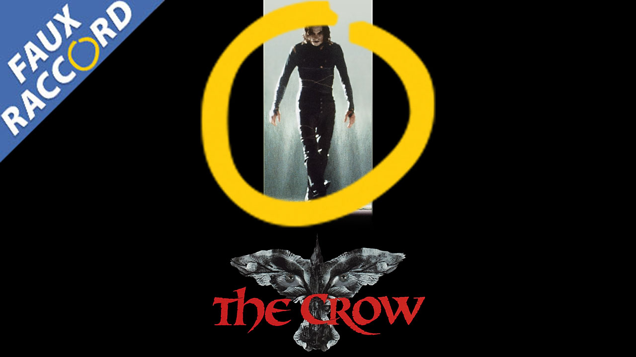 The Crow: the false connections and mistakes of the cult film