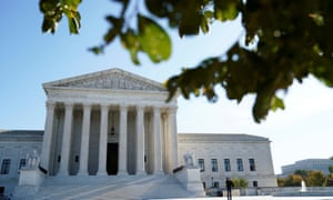 The U.S. Supreme Court building is seen in Washington, DC.
