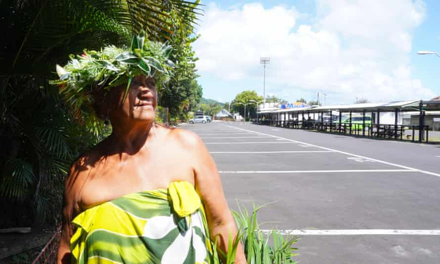 Mii Upu, an artisan and vendor at the often quiet Punanga Nui Market in Rarotonga, which was once a hotspot with tourists.