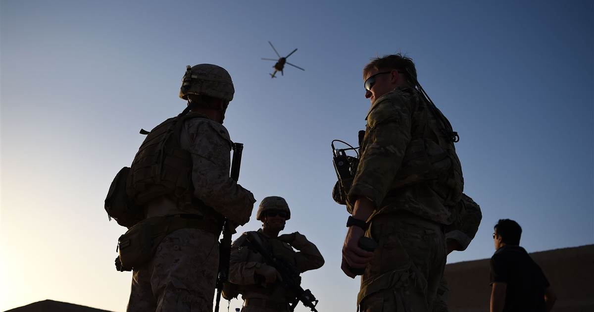 Frustrated military officials want Biden to make a decision on Afghanistan