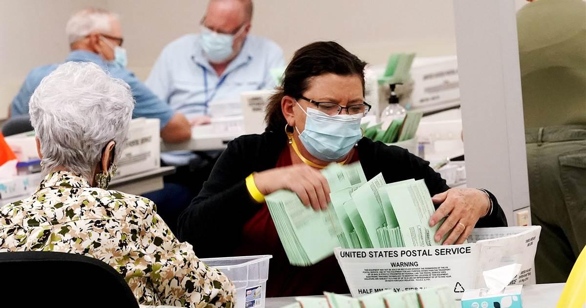Arizona Republican sides with Democrats, blocks voting bill