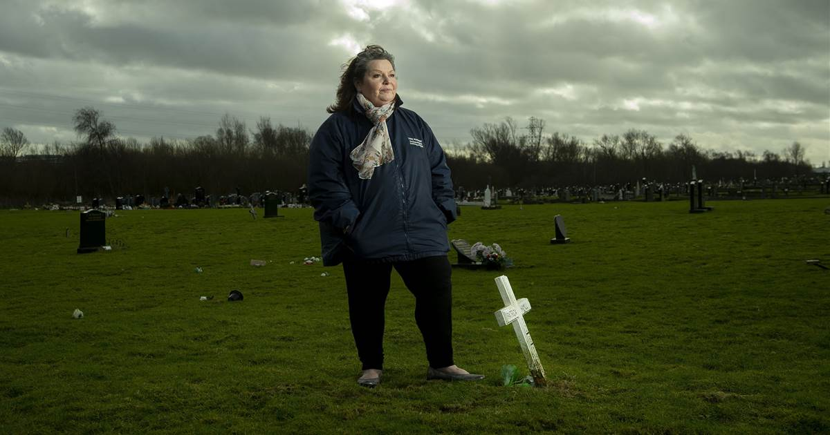 Archaeologist works to identify unmarked mass graves