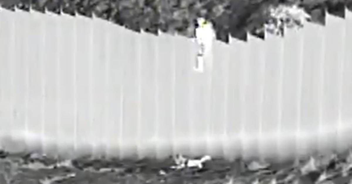 Two toddlers dropped from 14-foot border barrier into U.S., officials say