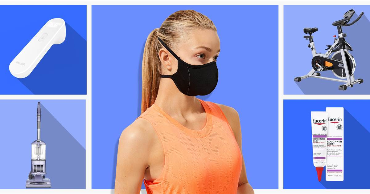 Ellipticals, face masks, vacuums and more