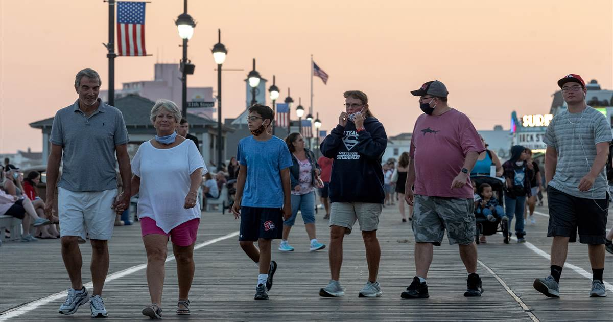 New Jersey's Covid surge is worsening, but government says no extra vaccines heading its way