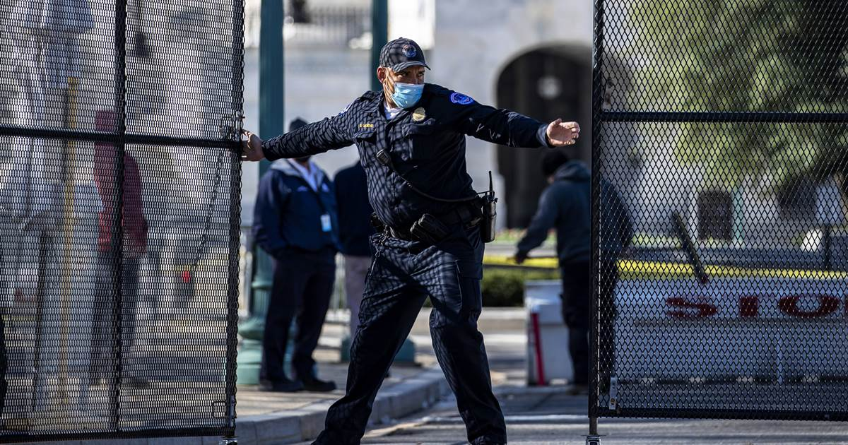 Capitol Police union warns of potential exodus after latest attack, urges security increases