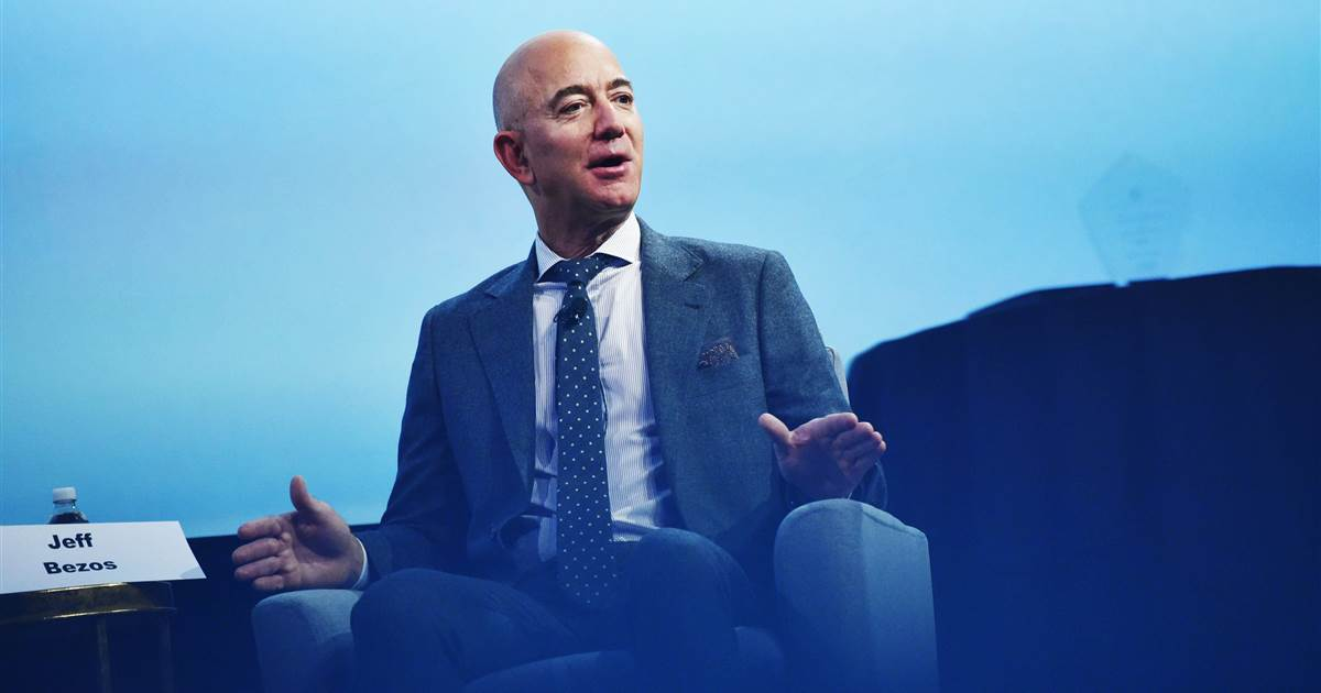 Bezos supports Biden's infrastructure push, backs corporate tax rate hike