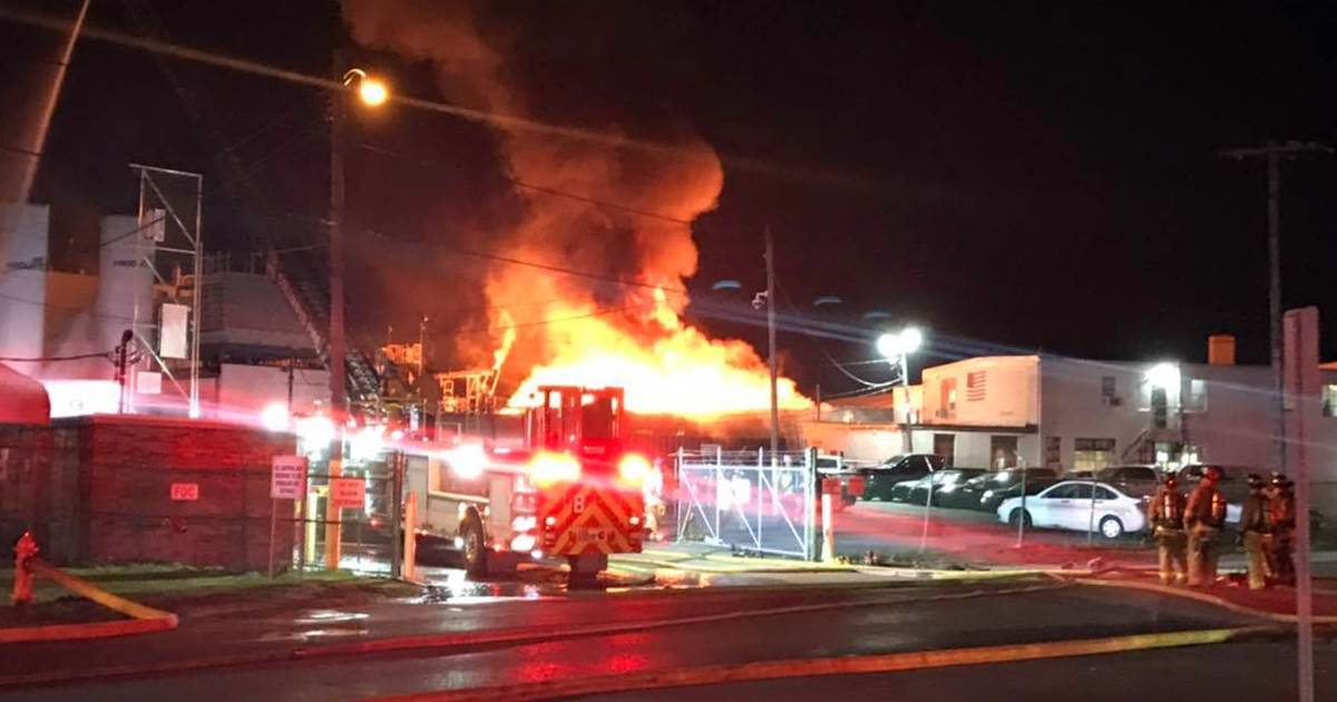 Eight hurt, one missing after explosion, fire at Ohio paint plant