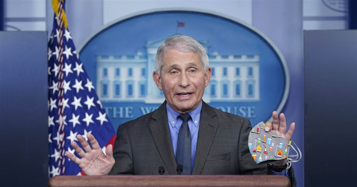 Fauci says he doesn't believe health officials will 'just cancel' Johnson & Johnson vaccine