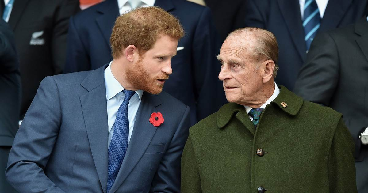 All eyes on Prince Harry as he returns to the U.K. for Prince Philip's funeral