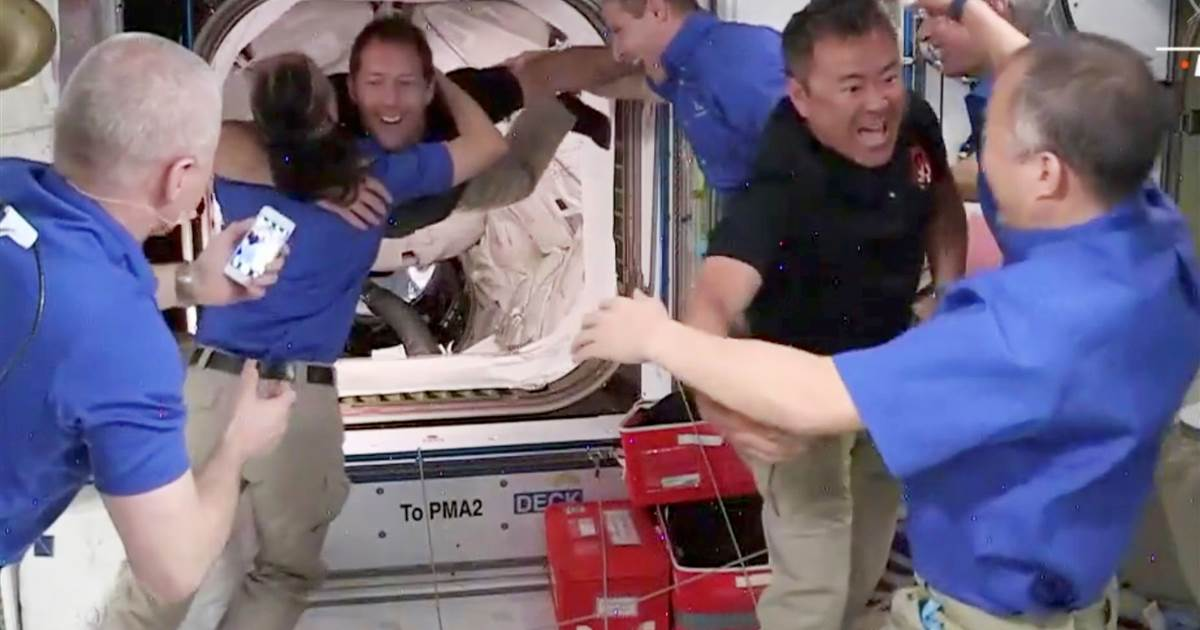 Astronauts dock at International Space Station aboard SpaceX Endeavour