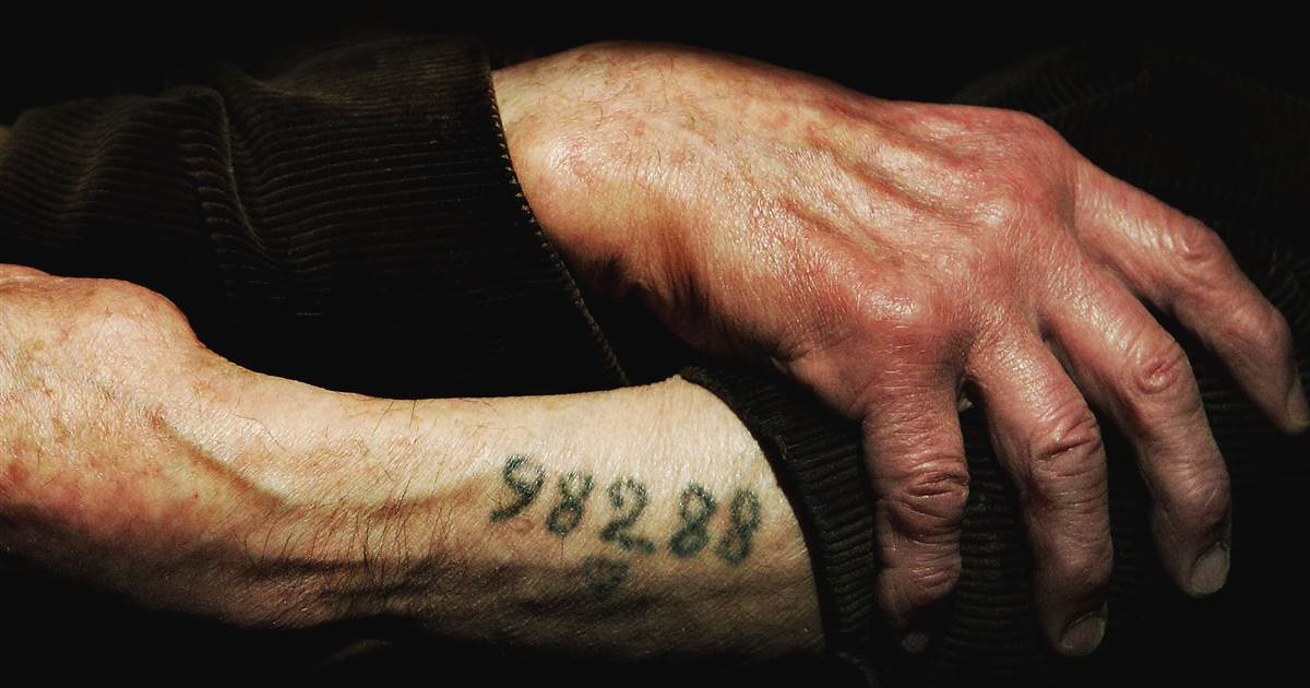Holocaust survivors launch new campaign to show how 'it started with words'