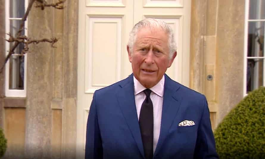 Prince Charles pays tribute to his father.