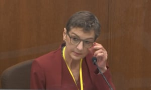 Dr. Lindsey Thomas, a forensic pathologist, testifies at Chauvin's trial.