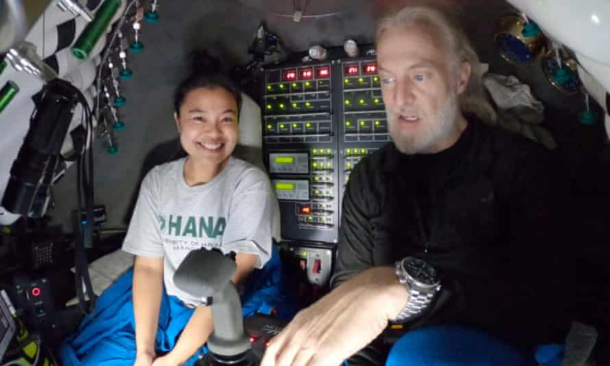 The expedition was organised by deep sea explorer Victor Vescovo. He and Yamase travelled nearly 11km below the ocean's surface.