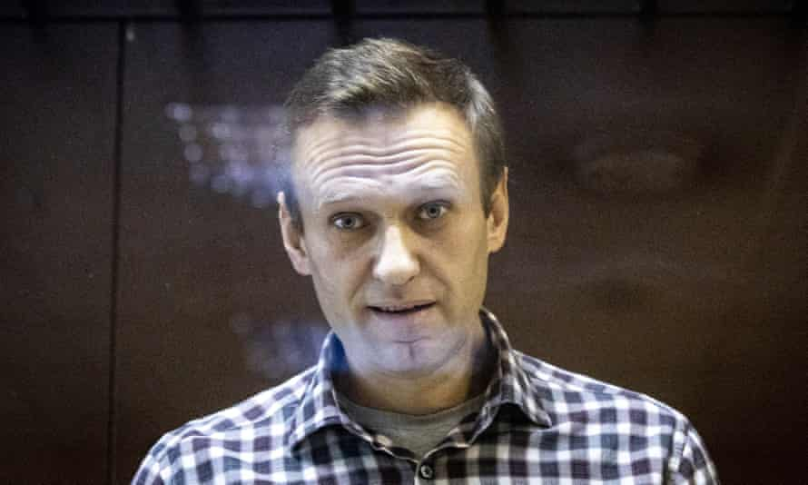 """Russian opposition leader Alexei Navalny is """"seriously ill""""."""