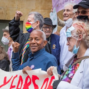 Celebrating the 50th anniversary of the Gay Liberation Front.