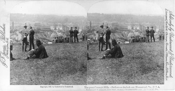 Photograph of Homestead Strike