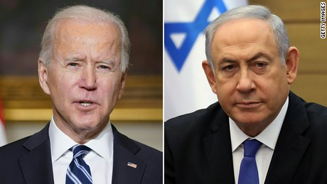 Biden, click the Reset button on Israel