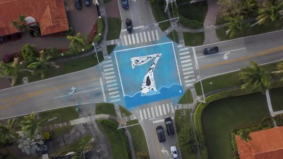 At Pinecrest, an artist Xavier Cortada feet above sea level murals set number of intersections.