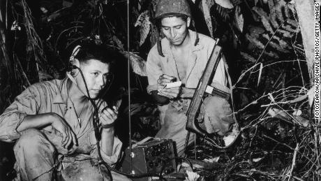 The salvation of the honor of the Navajo, whose base the feasts of the secret code of the state of the new Code Talkers