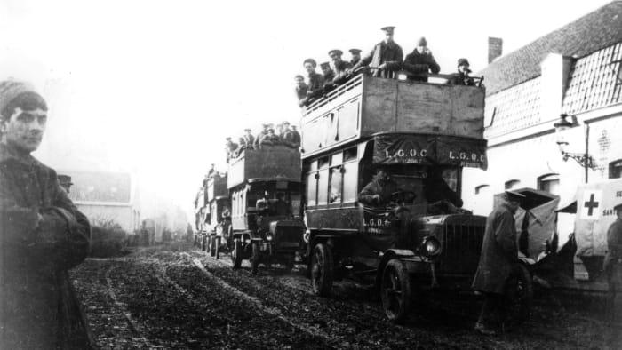 The First Battle of Ypres, World War I battles, WWI