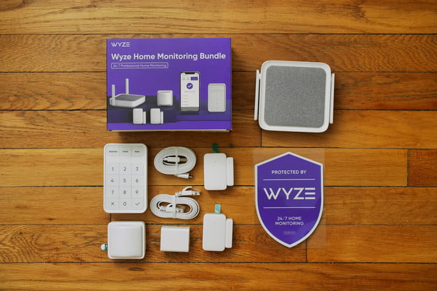 Wyze Home Monitoring components