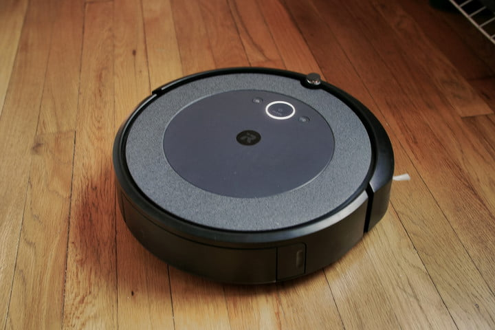 iRobot Roomba i3 Plus on floor