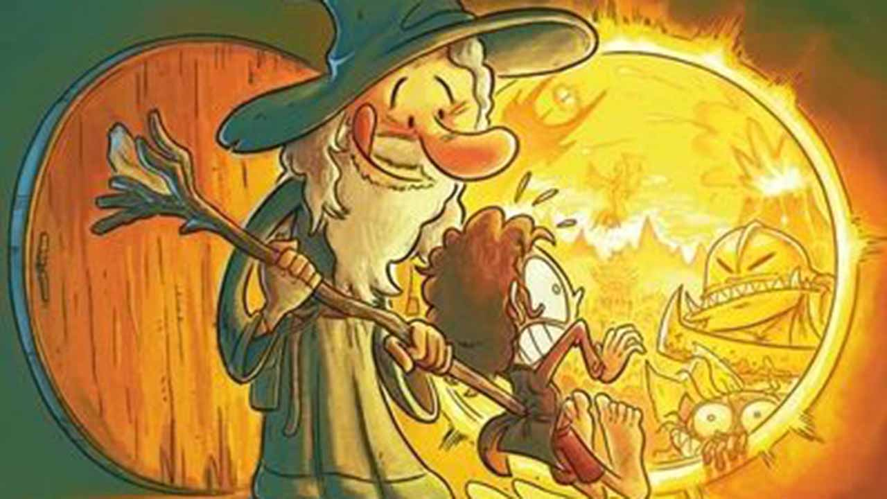 The Lord of the Rings: a parody comic strip tackles Tolkien's universe