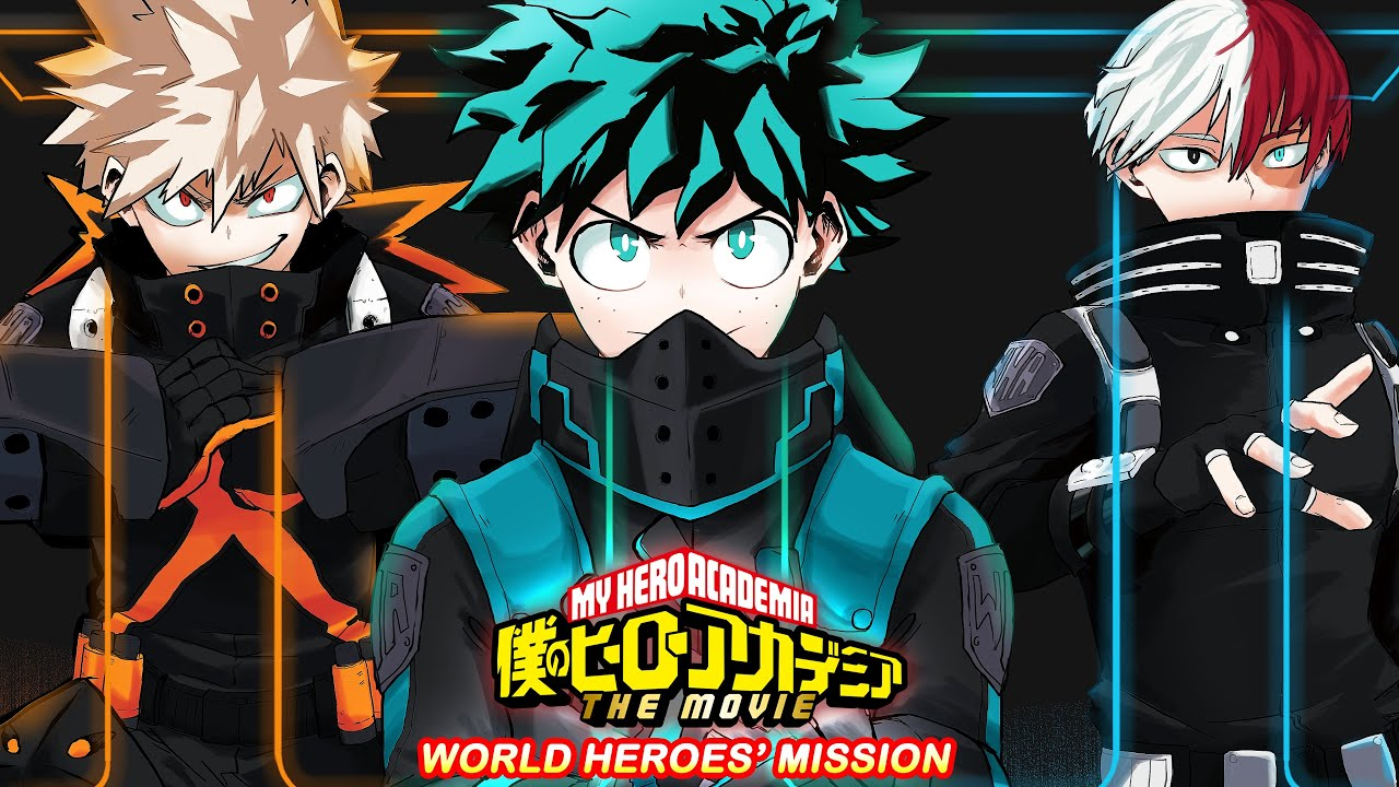 My Hero Academia: a new character in the movie World Heroes Mission