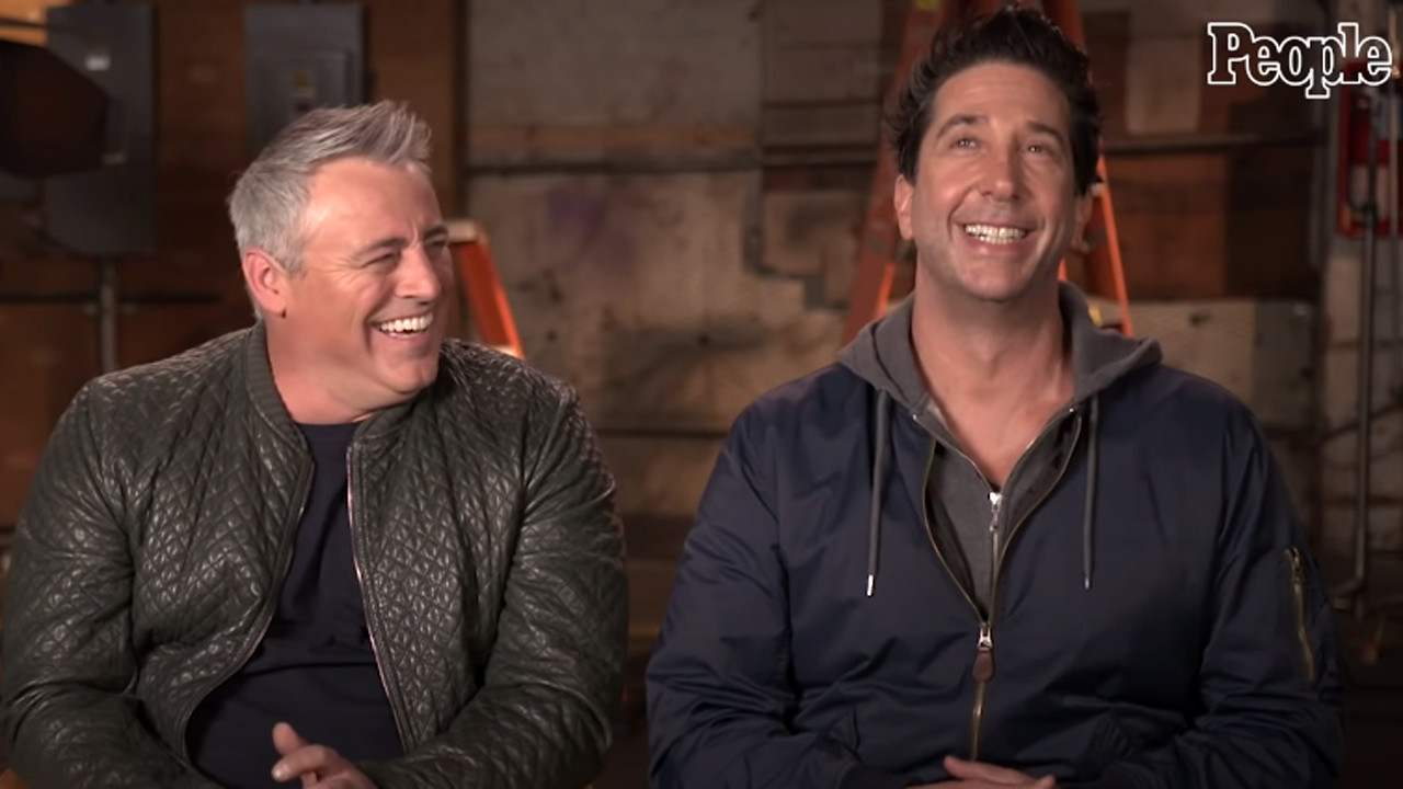 Friends: The Reunion: the first images of the reunion revealed - News Séries