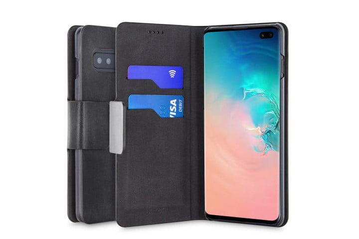 Olixar Leather-Style Wallet Case for Samsung Galaxy S10 Plus