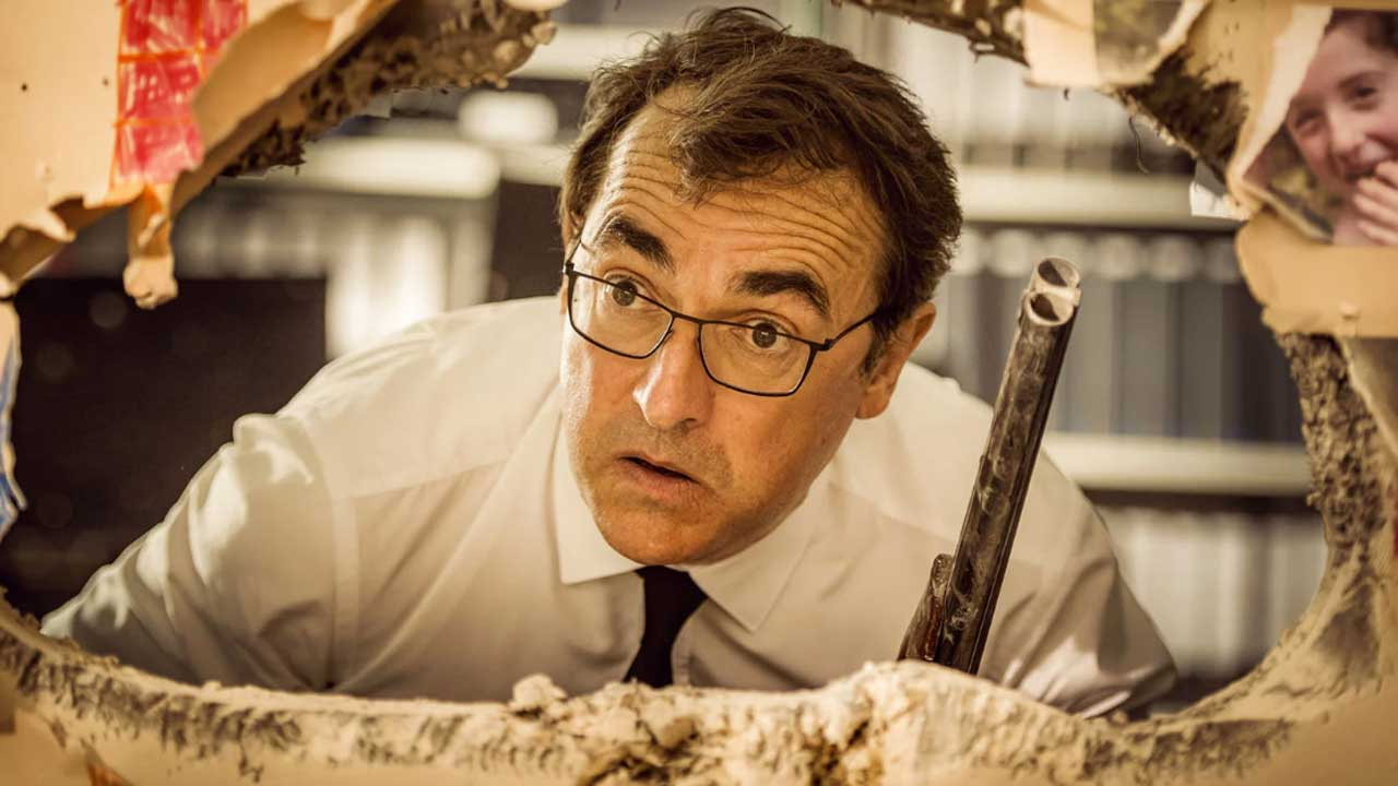 Albert Dupontel: after Adieu les cons, a political film in project, Second Tour