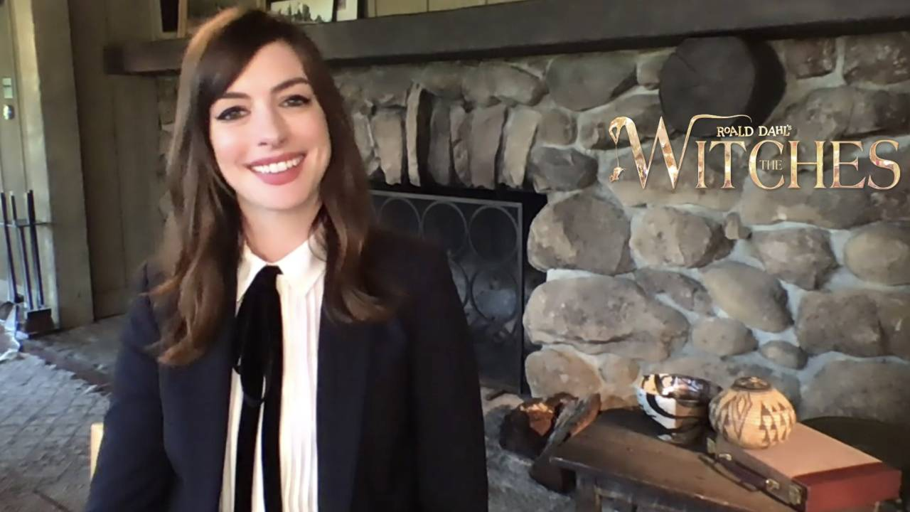 """Sacred witches with Anne Hathaway on CANAL +: """"All the stories of Roald Dahl are current"""" - Actus Ciné"""