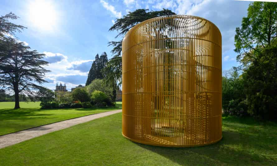 Gilded Cage on the South Lawn at Blenheim Palace.