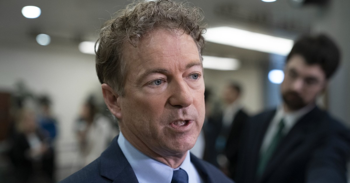 Suspicious package with white powder sent to Sen. Rand Paul's Kentucky home