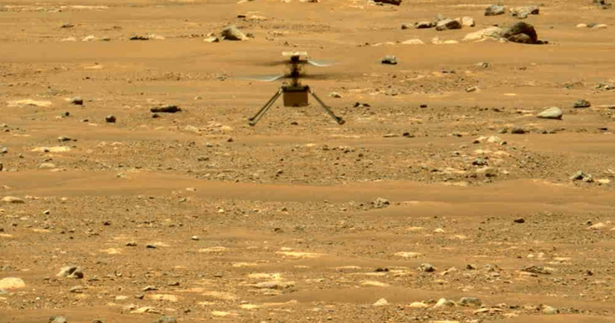 NASA's Mars helicopter goes on wild ride after navigation error