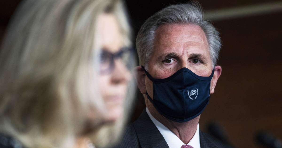 Battle between Republican leaders Cheney and McCarthy reaching boiling point