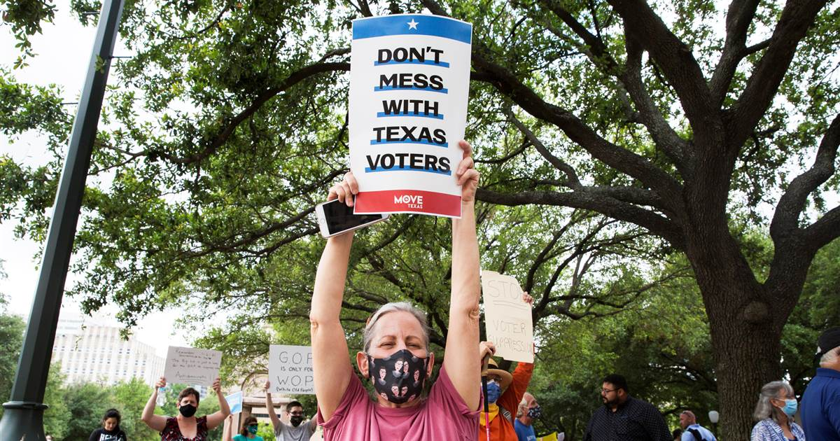 Democrats plan revisions to sweeping voting rights bill in Senate committee