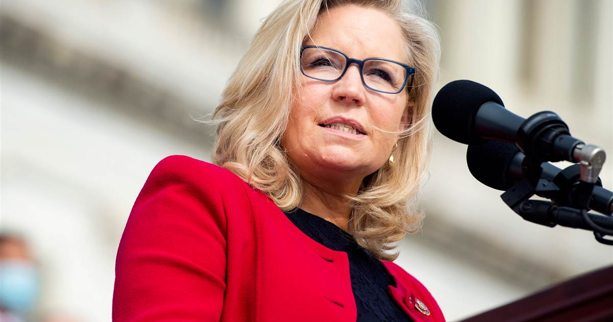 House Republicans to vote on Liz Cheney's future in leadership for rebuking Trump