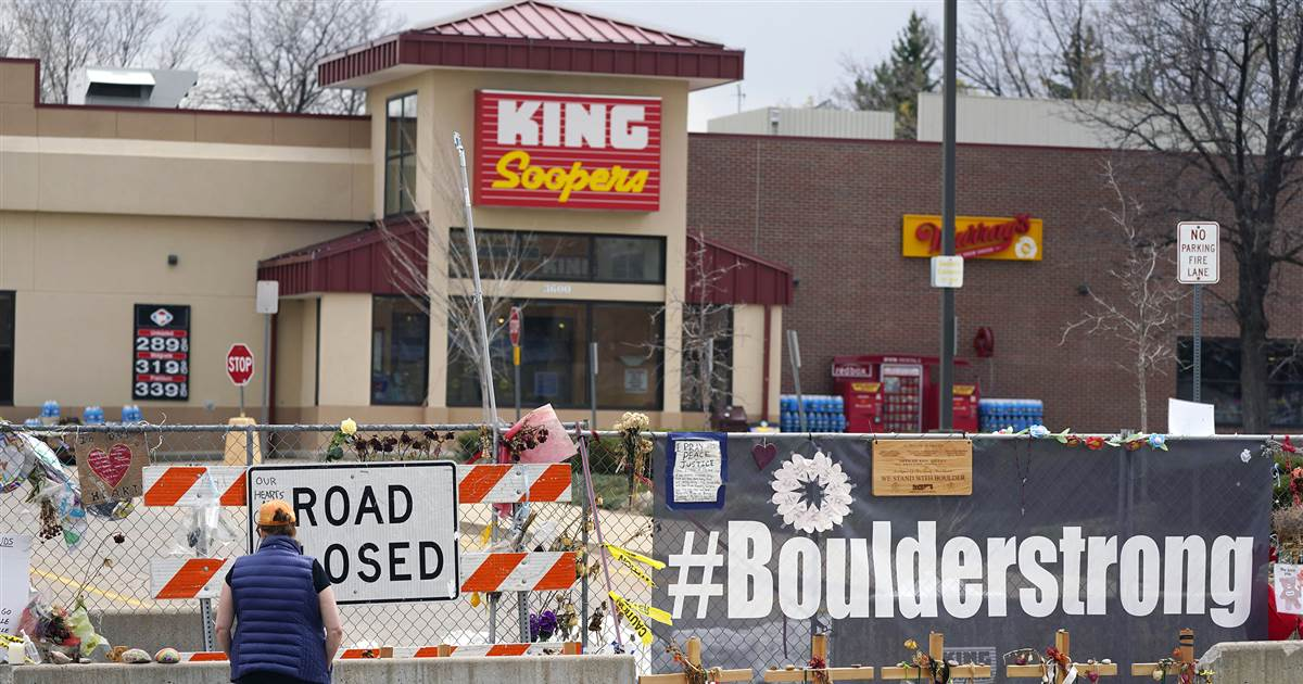 Boulder King Soopers store, site of mass shooting, will reopen