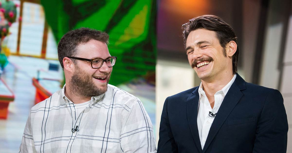 Seth Rogen, James Franco and the need for Hollywood men to start standing up