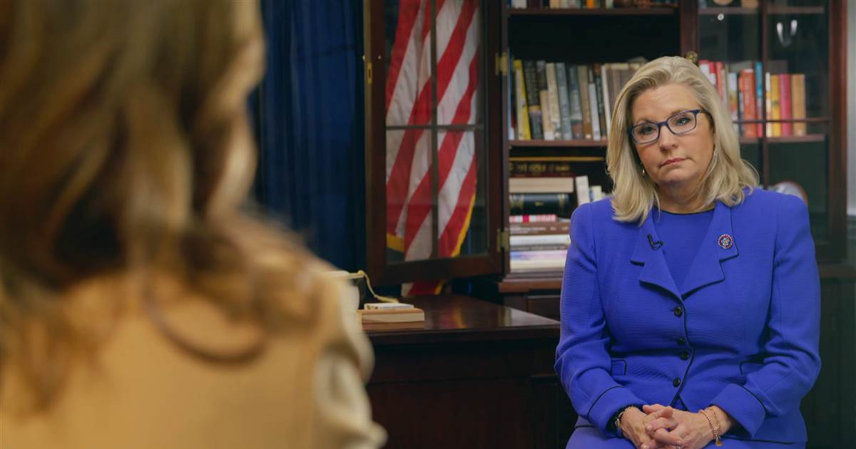 Cheney expresses dismay after House GOP ousts her from leadership