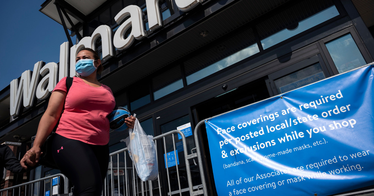 After CDC change, Walmart says employees, customers can ditch masks