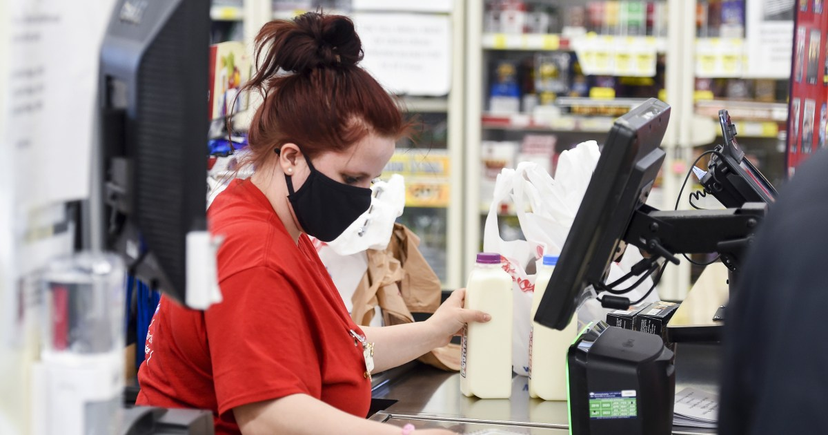 Vaccination police? New mask guidance could put grocery workers at risk, labor advocates warn