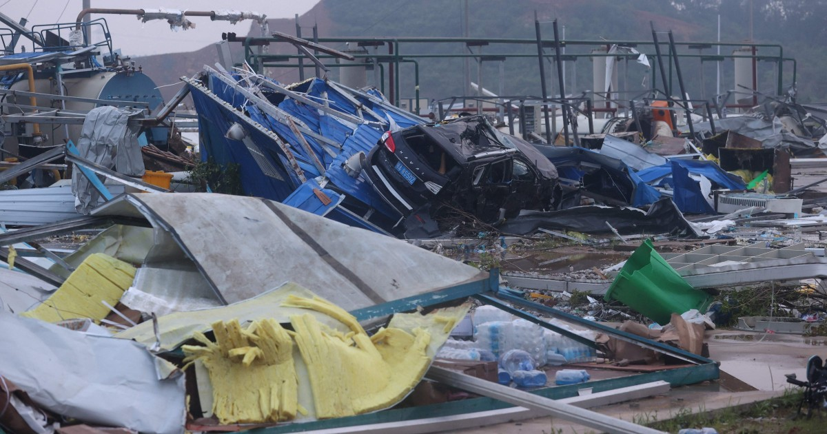 At least 12 dead as tornadoes rip through two Chinese provinces